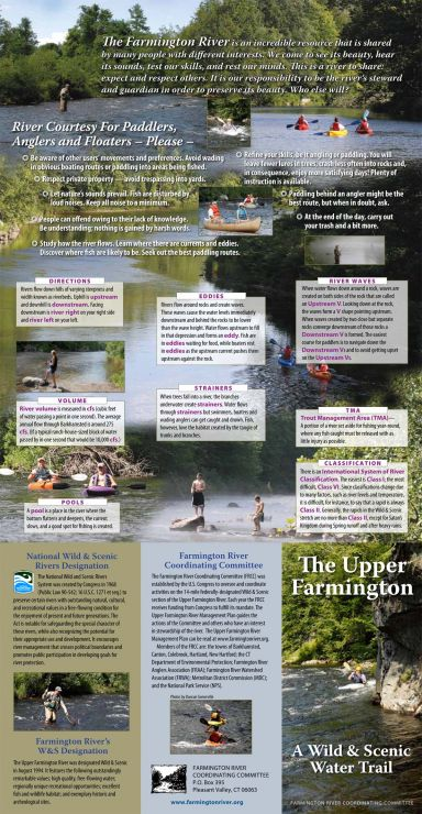 farmington river ettiquette tips
